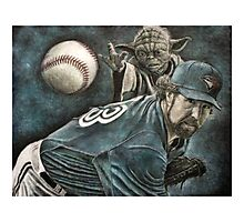 """The Force Behind The Knuckleball"" Photographic Print"