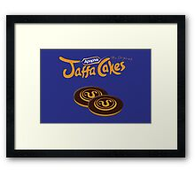 Apophis Jaffa Cakes Framed Print