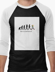 Pokemon evolution Men's Baseball ¾ T-Shirt