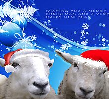 Sheepish Christmas Wishes by Jaysgifts