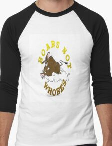Bobby Baratheon Shirt White Men's Baseball ¾ T-Shirt