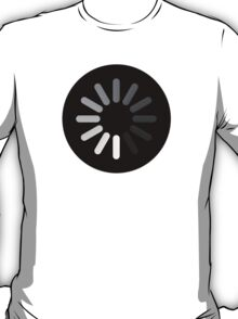 Apple Mac Loading Progress Wheel Symbol T-Shirt