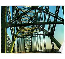 Robert Moses Bridge Poster
