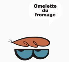 Omelette du fromage One Piece - Short Sleeve