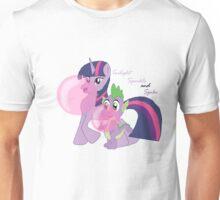 Twilight Sparkle and Spike - Bubblegum Love Unisex T-Shirt