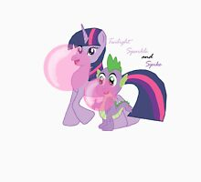 Twilight Sparkle and Spike - Bubblegum Love Unisex T-Shirt