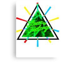 Marijuana | Tri Force | SteezeFactory.com Canvas Print
