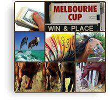 Melbourne cup Canvas Print