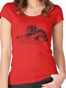 Hoof Hearted? Women's Fitted Scoop T-Shirt