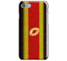 Monogram O personalized gift for him iPhone Case/Skin