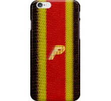 Monogram P personalized gift for him iPhone Case/Skin