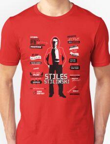 Stiles Stilinski Quotes Teen Wolf Unisex T-Shirt