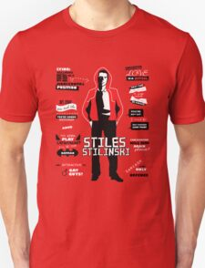 Stiles Stilinski Quotes Teen Wolf T-Shirt