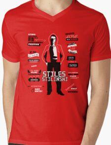 Stiles Stilinski Quotes Teen Wolf Mens V-Neck T-Shirt