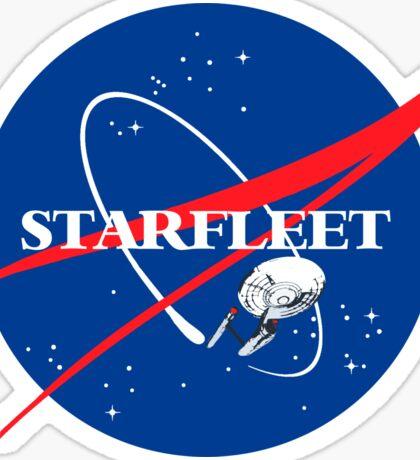 STARFLEET / NASA Sticker
