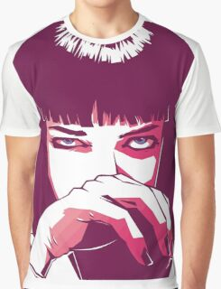 Mia Wallace Graphic T-Shirt