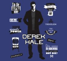 Derek Hale Quotes Teen Wolf by awiec