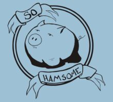 So HAMsome - Black Kids Tee