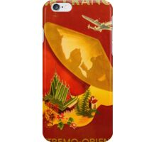 Vintage poster - Extremo-Oriente iPhone Case/Skin