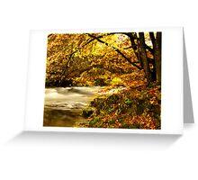 River Brathay, Clappersgate, Cumbria, England Greeting Card