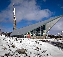 Roman Catholic Church, Perisher Valley, Snowy Mountains, Australia by DBigwood