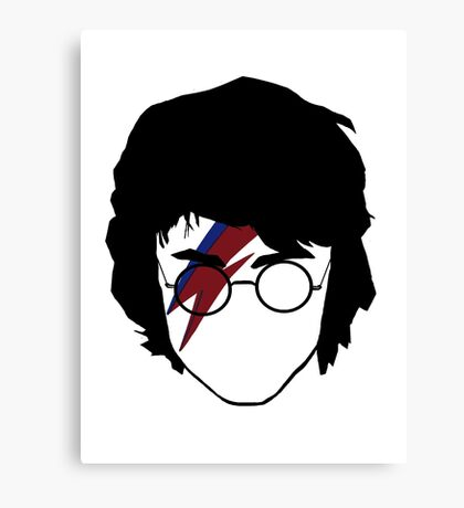 The boy who rocked Canvas Print