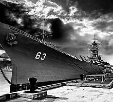 USS Missouri, Pearl Harbor by Michael Treloar