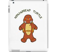 NINJABREAD TURTLE ORANGE iPad Case/Skin