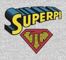 SuperPi Hero, Math Nerd Humor Kids Tee