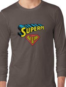 SuperPi Hero, Math Nerd Humor Long Sleeve T-Shirt