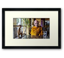 Waiting For Lunch Framed Print