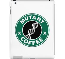 MUTANT COFFEE iPad Case/Skin
