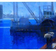 Boat crane by David  Kennett