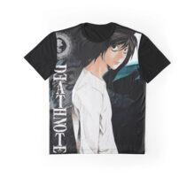 Kira and L Death Note Anime Graphic T-Shirt