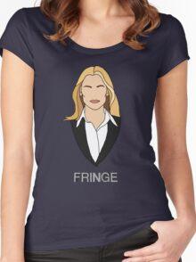 Olivia - Fringe Women's Fitted Scoop T-Shirt