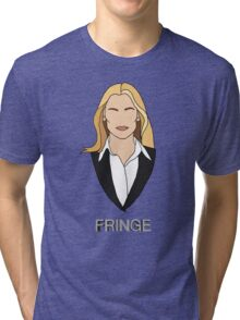 Olivia - Fringe Tri-blend T-Shirt