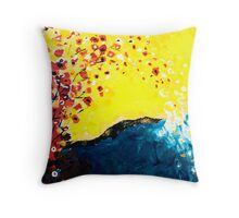 Everything's in Harmony Throw Pillow