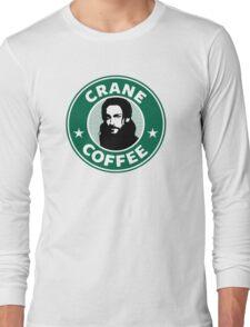 Crane Coffee Long Sleeve T-Shirt