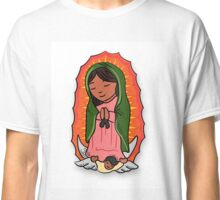 Virgin Mary of Guadalupe Illustration Classic T-Shirt