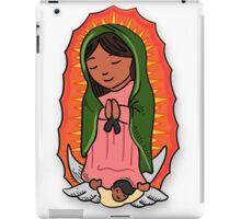 Virgin Mary of Guadalupe Illustration iPad Case/Skin