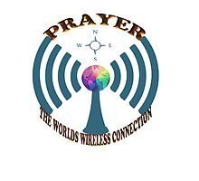 PRAYER THE WORLDS WIRELESS CONNECTION- VARIOUS APPAREL-PILLOWS,TOTE BAGS,SCARF,JOURNAL,CUPS,MUGS,TRAVEL MUGS,TEE SHIRTS-ECT.. by ✿✿ Bonita ✿✿ ђєℓℓσ