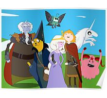 The Last Adventure Unicorn Time Poster