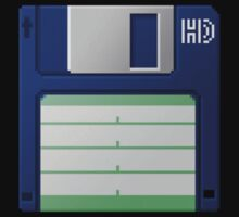 3.5 Inch Floppy Disk - Blue by Conor O'Kane
