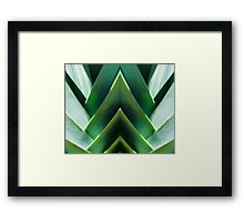 Lady Leek Framed Print