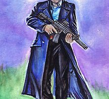 Captain Jack Harkness John Barrowman by gothscifigirl