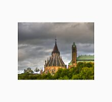 The parliament in Ottawa HDR Unisex T-Shirt