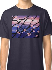 Cherry Blossoms Decorative Painting Classic T-Shirt