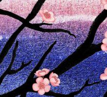 Cherry Blossoms Decorative Painting Sticker