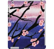 Cherry Blossoms Decorative Painting iPad Case/Skin