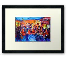 MASON RACK BAND - Agnes Tavern Nov 2015 Framed Print